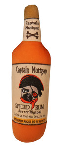 Captain Muttgan Plush Dog Toy