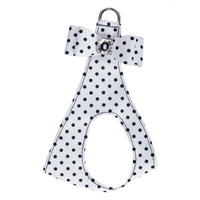 Susan Lanci Polka Dot Big Bow Step In Harness