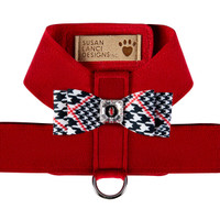 Susan Lanci Classic Glen Houndstooth Big Bow Tinkie Harness