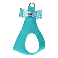 Susan Lanci Bimini Houndstooth Big Bow Step In Harness