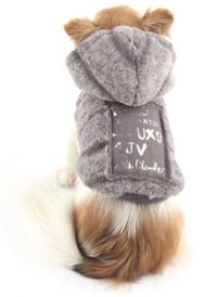 Doodle Fur Reversible Hoodie