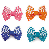 Cute Chevron Bows