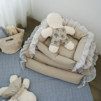 Louisdog Linen Lala Boom Bed