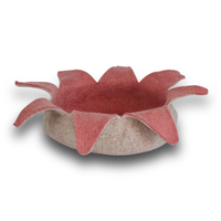 Rose Petals Pet Basket