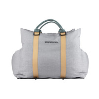 7th Mon Carseat - Silver Gray