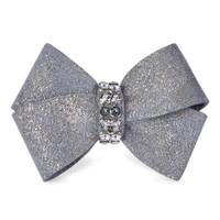 Susan Lanci Platinum Glitzerati Nouveau Bow Hair Bow