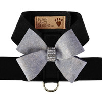 Susan Lanci Platinum Glitzerati Nouveau Bow Tinkie Harness