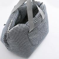 Louisdog Check Linenaround Bag