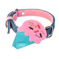 Plastic Ice Cream Dog Collar