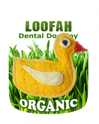 Organic Duck Dental Loofah Toy