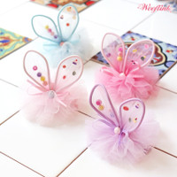Wooflink Little Bunny Fairy Hairbow