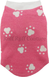 Pink Paws Thermal Tee