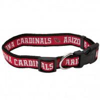 Arizona Cardinals Ribbon Dog Collar