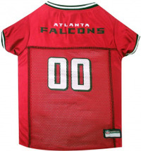 Atlanta Falcons Dog Jersey - Black Trim