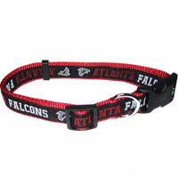 Atlanta Falcons Ribbon Dog Collar