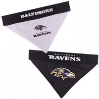 Baltimore Ravens Reversible Mesh Dog Bandana
