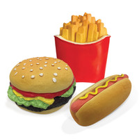 Fast Food Chew Latex Toy
