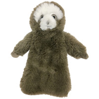 Fuzzy Stuffless Crinkle Sloth Toy
