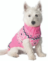 Pink Nordic Sweater