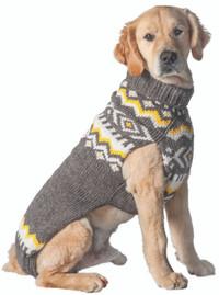Grey Nordic Sweater