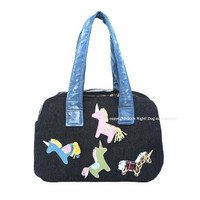 Hermes Ponies Zipper Pet Carrier