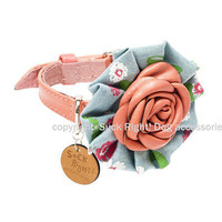 Pink Primavera Dog Collar