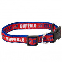 Buffalo Bills Ribbon Dog Collar