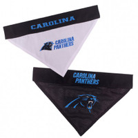 Carolina Panthers Reversible Mesh Dog Bandana