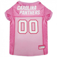 Carolina Panthers Pink Dog Jersey