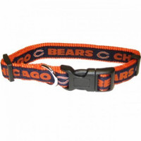 Chicago Bears Ribbon Dog Collar