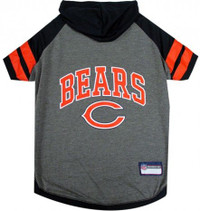 Chicago Bears Hoody Dog Tee