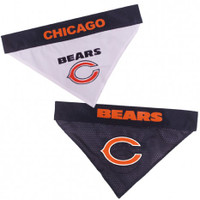 Chicago Bears Reversible Mesh Dog Bandana