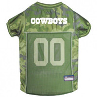 Dallas Cowboys Camo Dog Jersey