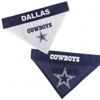 Dallas Cowboys Reversible Mesh Dog Bandana