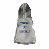 Dallas Cowboys Pet Hooded Crewneck