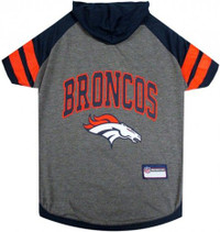 Denver Broncos Hoody Dog Tee