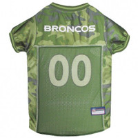 Denver Broncos Camo Dog Jersey