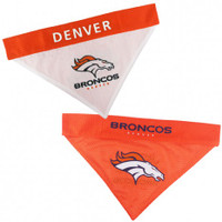 Denver Broncos Reversible Mesh Dog Bandana