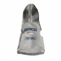 Denver Broncos Pet Hooded Crewneck