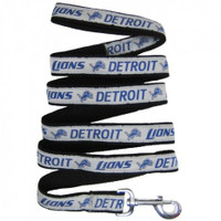 Detroit Lions Ribbon Dog Leash