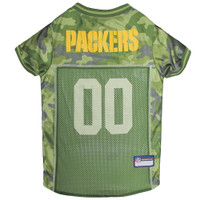 Green Bay Packers Camo Dog Jersey