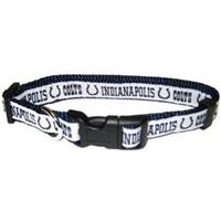 Indianapolis Colts Ribbon Dog Collar