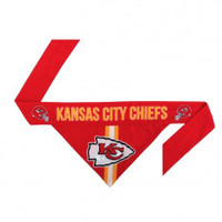 Kansas City Chiefs Tie-On Bandana