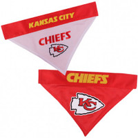 Kansas City Chiefs Reversible Mesh Dog Bandana
