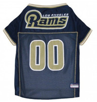 Los Angeles Rams Dog Jersey