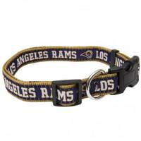 Los Angeles Rams Ribbon Dog Collar