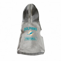 Miami Dolphins Pet Hooded Crewneck
