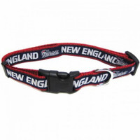 New England Patriots Ribbon Dog Collar