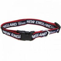 New England Patriots Ribbon Dog Collar