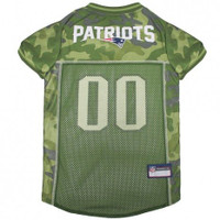 New England Patriots Camo Dog Jersey